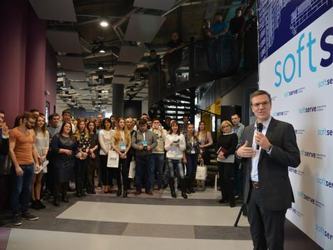 Как мы ходили на открытие нового офиса компании SoftServe в Харькове