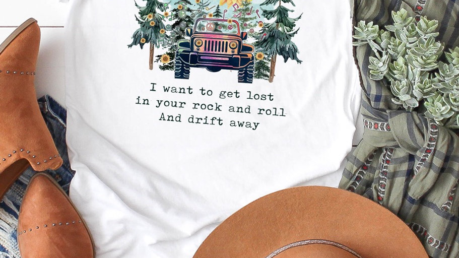 Beat boys rock and roll tee shirt
