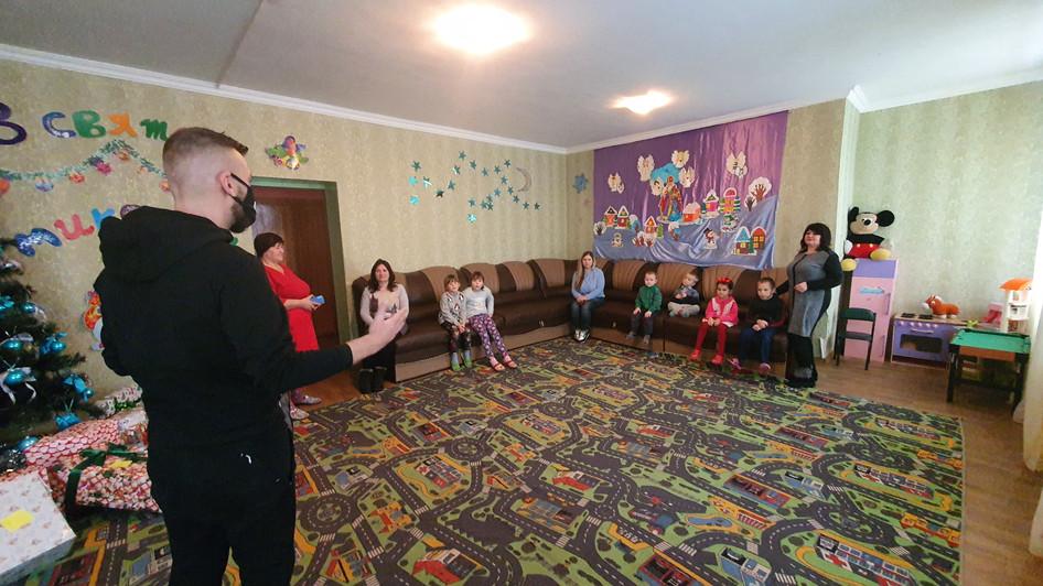 """Подарували різдво дітям центру соціально-психологічної реабілітації """"Надія"""" разом із GlobalLogic"""