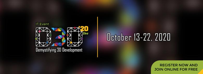 Щорічна ІТ-конференція D3D від AMC Bridge цього року онлайн