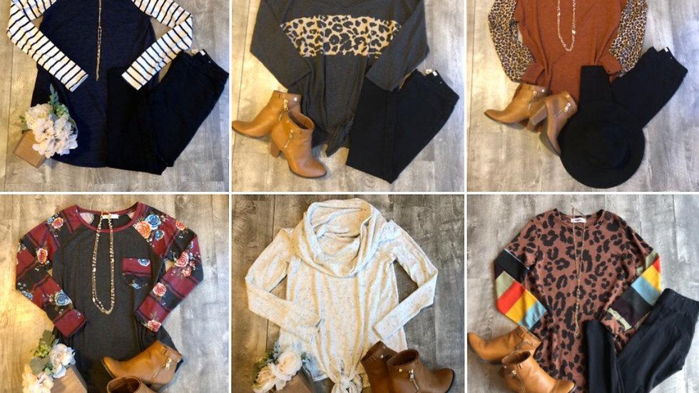Grab bag tunic sweater lot Small-XL