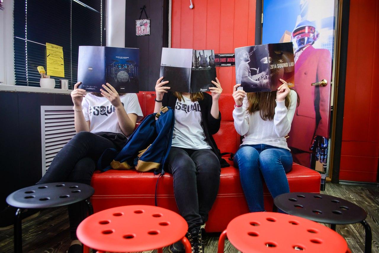 Журналы вместо лиц