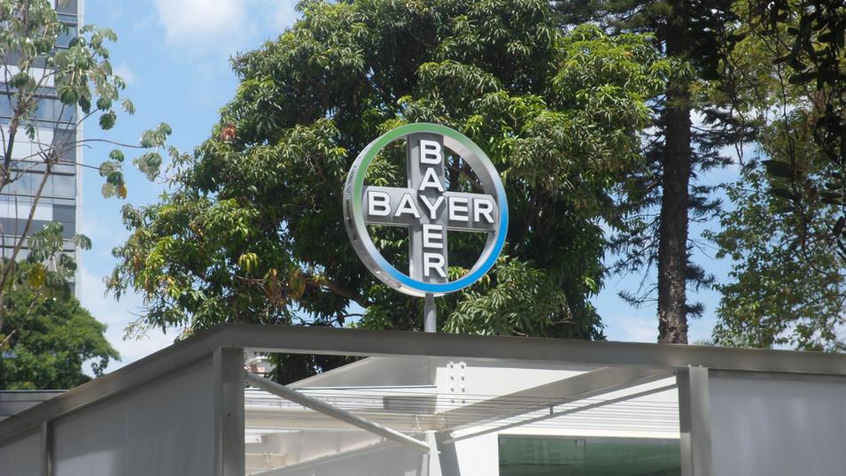 Bayer – Signage and visual communication