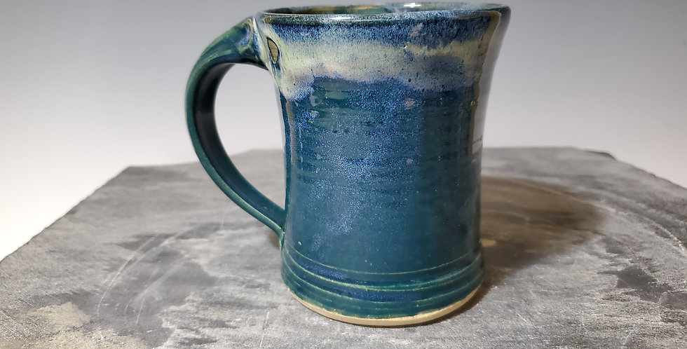 Hour Glass Mug-Teal