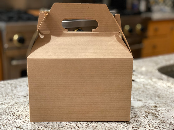 Brown Craft Gable Gift Boxes