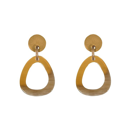 Carmel Drop Earring