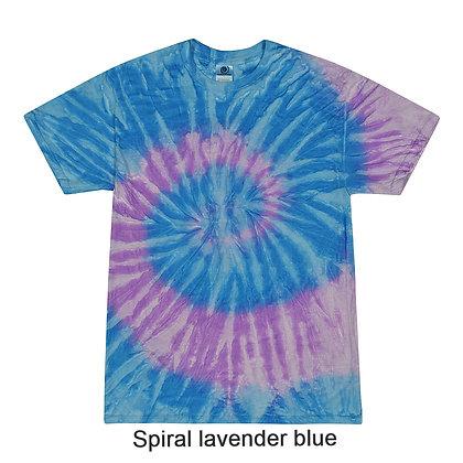 Colortone Tie-Dye Short Sleeve T-Shirt