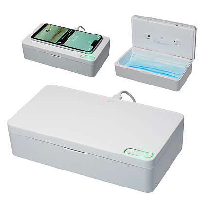 Purity Wireless Charger with UV-C Chamber