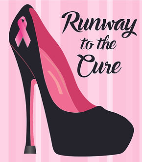 Current Runway to the Cure Logo as of 8.