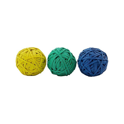 Rubber Bands; Assorted 3 colors