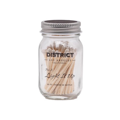 District Los Angeles Light It Up Matches