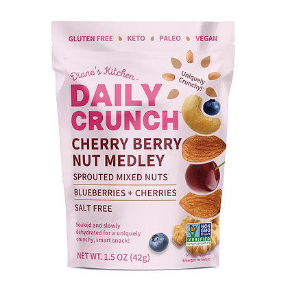 Cherry Berry Sprouted Nut Medley
