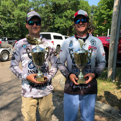 Cody and Marty Thompson win the COVID CUP 2 day event at Gull Lake and Lake Alexander 2020