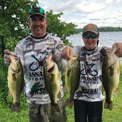Jason and Jackson Rosati Lake Minnetonka 2020