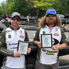 Tom and Mark winning 1st place at Bald Eagle Lake 6/27/21