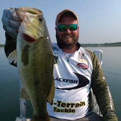 Spencer Lahr with an awesome Clearwater bass 7-18-21
