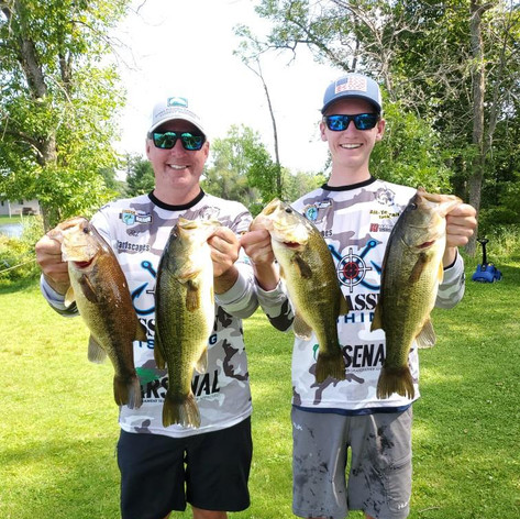 Bob and Jack Griffin Gull Lake 2020