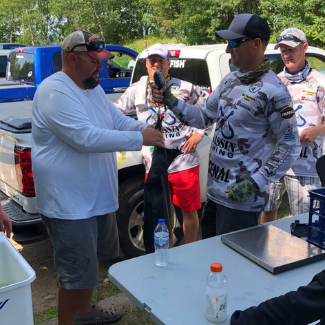 Weigh-in Whitefish Chain 2019