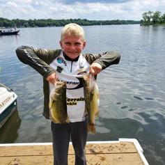 Parker Thompson at Bald Eagle Lake 6-27-21
