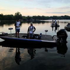Jason and Jackson Rosati Take Off on Bald Eagle Lake 6-27-21