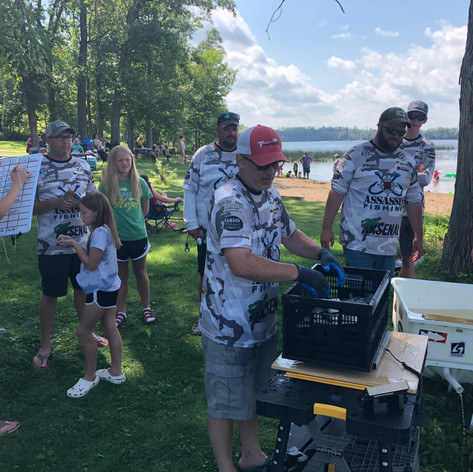Weigh in Gull Lake 2020
