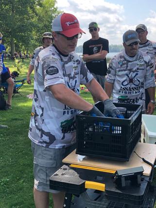 Jason Kamerud weigh in Gull Lake 2020