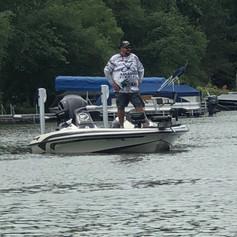 Brad Lahr ready to go Lake Washington/Stella 2020