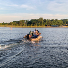 Adam and Andrew take off on Tonka