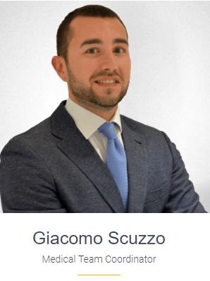 Dr Giacomo Scuzzo -Medical Team Coordinator