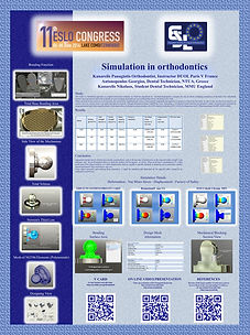The Poster presented at the 11th ESLO Congress - First award