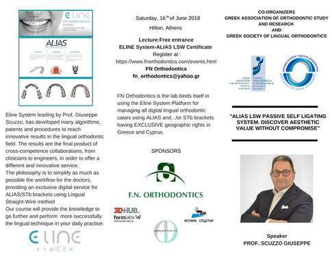 ALIAS Course - Prof. Scuzzo - ELINE System - Brochure 1