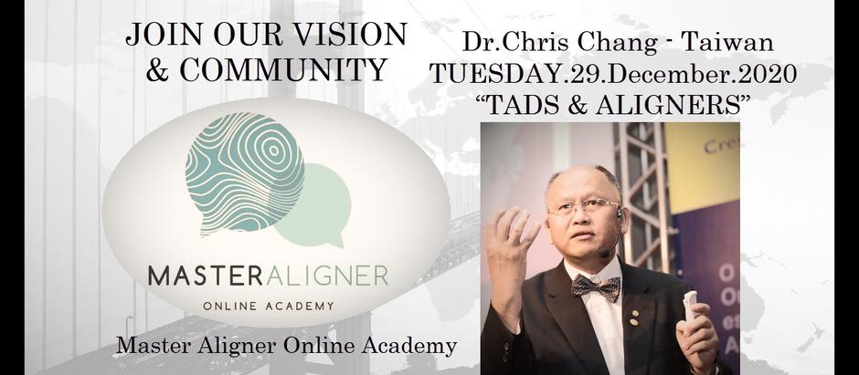 Dr.Chris Chang - Taiwan-WEBINAR