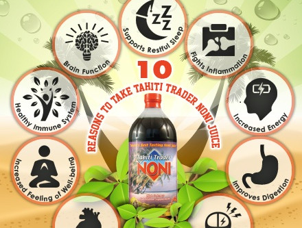 The Wonderful Benefits of Tahiti Trader Noni