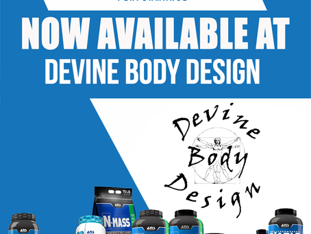 ANS Performance Supplements~                                           Available only at Devine Body