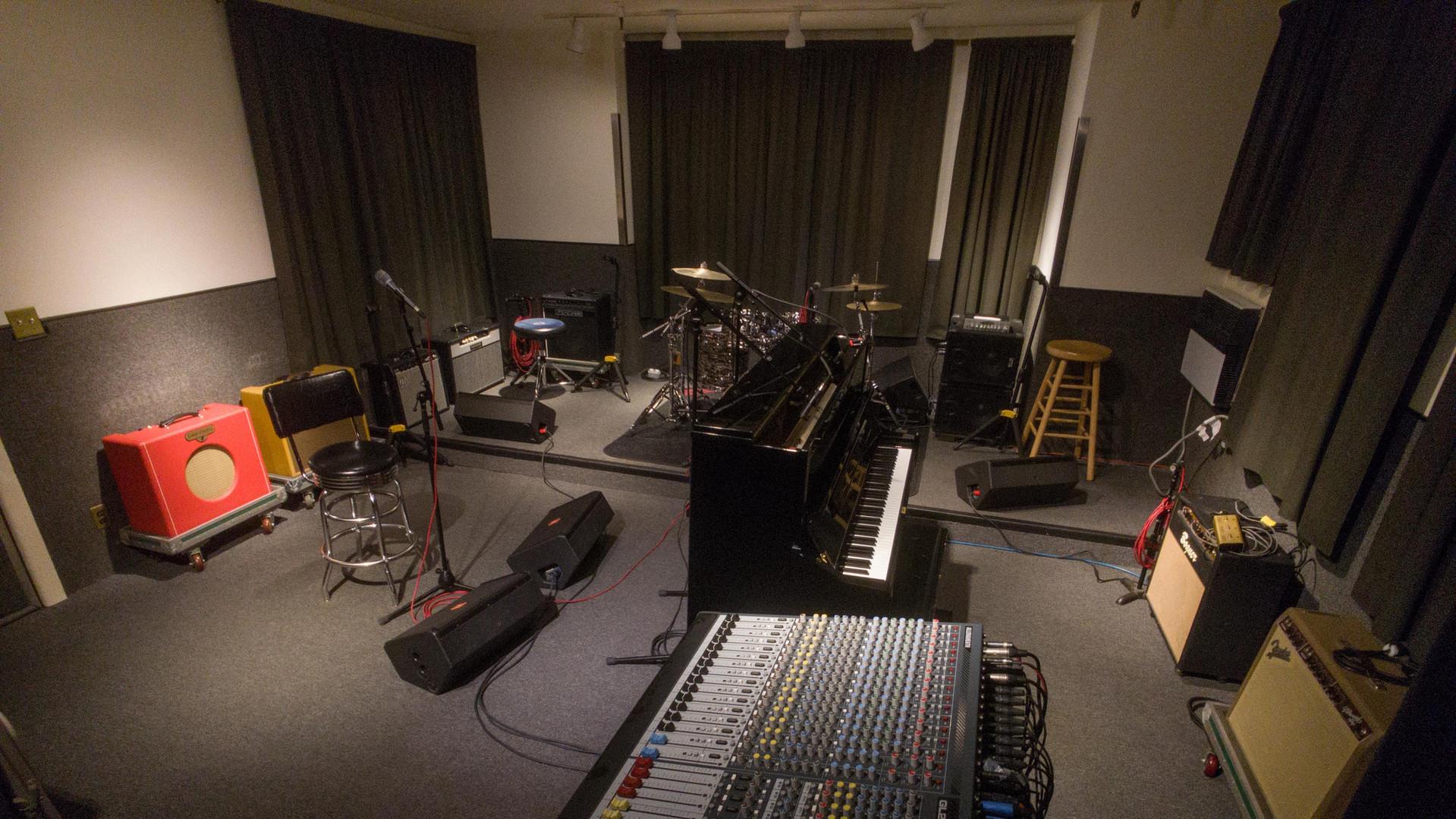 Studio 3 with Upright Piano