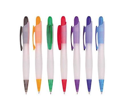 שקוף - עט פלסטיק