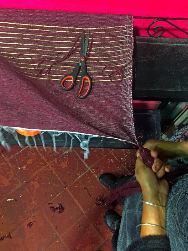 Morocco, weaving, loom, Essaouira