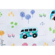 Van et fleurs