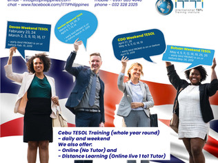 Bringing TESOL closer to you!