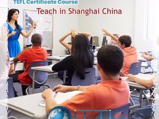 be a Teacher in China