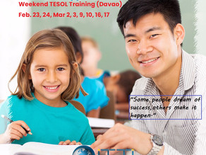 Weekend TESOL in Davao