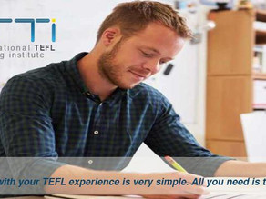Get TESOL Certified anywhere anytime...