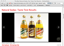 KitchenDaily.com: THE BEST NATURAL SODAS: OUR TASTE TEST RESULTS