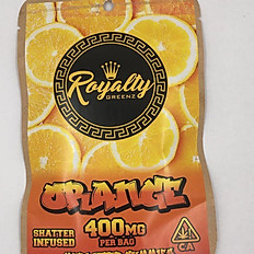 Royalty Orange Gummies 400MG