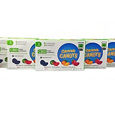 Canna Candys CBD Hard Candies 4PK (100mg)