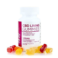CBD Living Vegan Gummies 30 Count