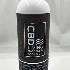 CBD Living Massage Oil 300MG