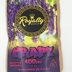 Royalty Grape Gummies 400MG