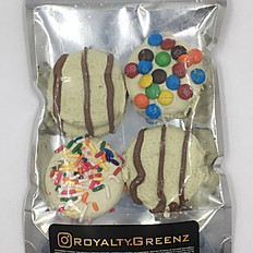 Royalty White Chocolate Covered Oreos 400MG