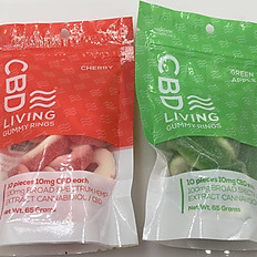 CBD Living Gummy Rings 100mg